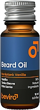 Parfums et Produits cosmétiques Huile pour barbe, Vanille - Beviro Beard Oil Honkatonk Vanilla