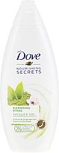 Parfums et Produits cosmétiques Gel douche rafraîchissant au thé vert matcha et fleur de cerisier - Dove Nourishing Secrets Awakening Ritual