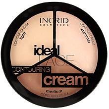 Parfums et Produits cosmétiques Palette contour visage, 3 nuances - Ingrid Cosmetics Ideal Face Countouring Cream