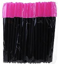 Parfums et Produits cosmétiques Goupillons en silicone pour cils, noir-rose - Novalia Group