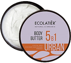 Parfums et Produits cosmétiques Crème aux beurres de karité et cacao pour corps - Ecolatier Urban Body Butter
