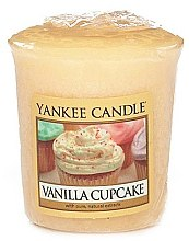 Parfums et Produits cosmétiques Bougie parfumée votive Gâteau à la vanille - Yankee Candle Vanilla Cupcake
