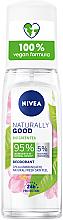 Parfums et Produits cosmétiques Déodorant au thé vert bio - Nivea Naturally Good Bio Green Tea Deodorant
