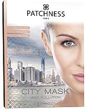 Parfums et Produits cosmétiques Masque à l'extrait de graine de moringa pour visage - Patchness City Mask
