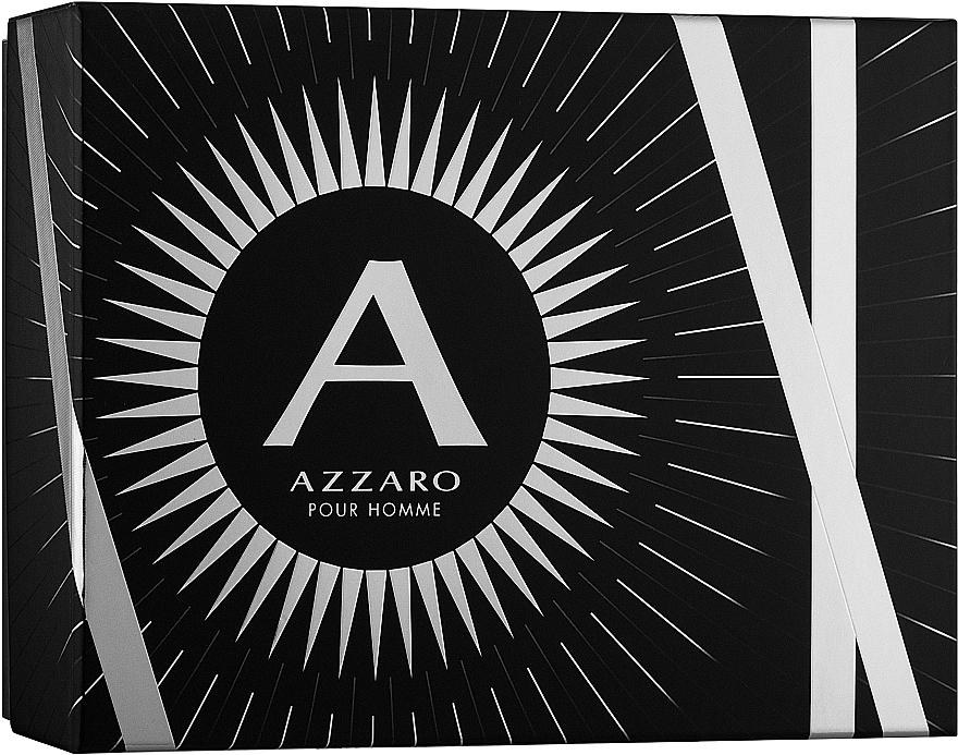 Azzaro Pour Homme - Coffret (eau de toilette/100ml + shampooing pour cheveux et corps/100ml + baume après-rasage/50ml) — Photo N1