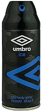 Parfums et Produits cosmétiques Umbro Ice - Déodorant spray rafraîchissant