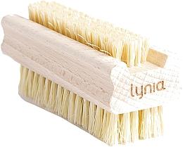 Parfums et Produits cosmétiques Brosse en bois pour mains et ongles - Lynia