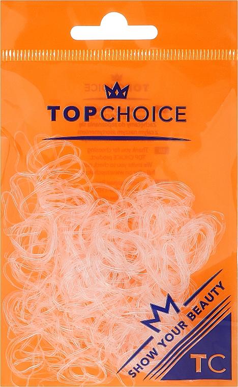 Élastiques à cheveux 22715, transparent - Top Choice