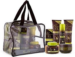 Parfums et Produits cosmétiques Coffret cadeau - Xpel Marketing Ltd Argan Oil (sh/250ml+cond/250ml+oil/50ml+mask/220ml+h/spr/150ml+b/but/250ml)