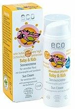 Parfums et Produits cosmétiques Crème solaire à l'argousier et grenade pour bébés et enfants SPF 50 - Eco Cosmetics Baby Sun Cream SPF 50