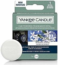 Parfums et Produits cosmétiques Diffuseur électrique de parfum pour voiture, Jasmin - Yankee Candle Car Fragrance Refill Midnight Jasmine (recharge)