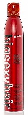 Mousse volumisant et résistant à l'humidité pour cheveux - SexyHair BigSexyHair Root Pump Plus Humidity Resistant Volumizing Spray Mousse — Photo N1