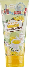 Parfums et Produits cosmétiques Mousse nettoyante à l'extrait de citron pour visage - Esfolio Tea Time Lemon Foam Cleanser