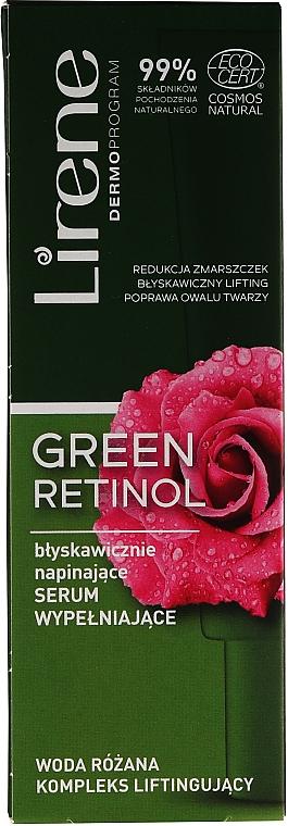 Sérum à l'eau de rose pour visage - Lirene Green Retinol Serum — Photo N1