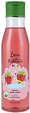 Parfums et Produits cosmétiques Gel lavant à l'extrait de fraise pour corps et cheveux - Oriflame Love Nature Kids Playful Strawberry Hair Body Wash