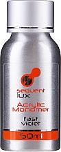 Parfums et Produits cosmétiques Liquide cristal acrylique pour vernis à ongles - Silcare Sequent Lux Acrylic Monomer Fast Violet