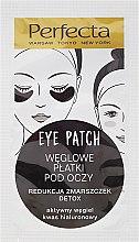 Parfums et Produits cosmétiques Patchs détoxifiants au charbon actif pour les yeux - Dax Cosmetics Perfecta Eye Patch