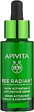 Parfums et Produits cosmétiques Sérum anti-fatigue activateur d'éclat à l'huile de zeste de citron pour visage - Apivita Bee Radiant Glow Activating & Anti-Fatigue Serum