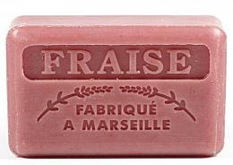 Parfums et Produits cosmétiques Savon de Marseille Fraise - Foufour Savonnette Marseillaise Fraise