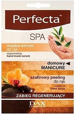 Gommage + masque-sérum régénérant pour mains - Perfecta Spa Hand Peeling