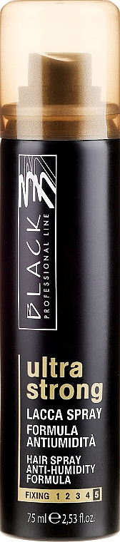 Laque anti-humidité fixation extra forte - Black Professional Line Hairspray Ultra Strong Hold