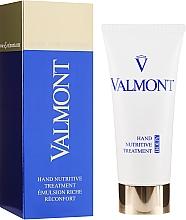 Parfums et Produits cosmétiques Crème à l'acide salicylique et glycérine pour mains - Valmont Hand Nutritive Treatment