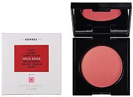 Parfums et Produits cosmétiques Blush - Korres Wild Rose Brightening Vibrant Colour Blush