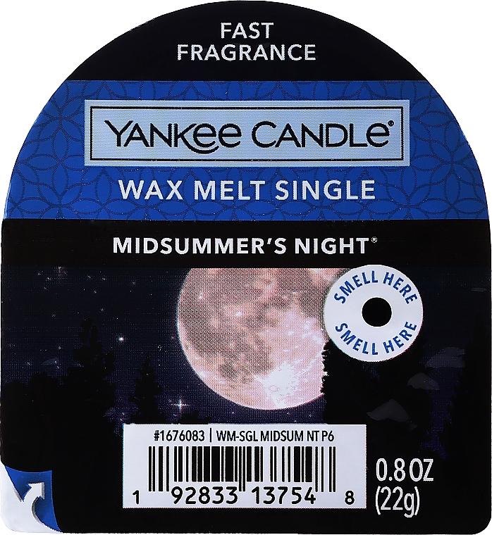 Tartelette de cire parfumée Nuit d'été - Yankee Candle Midsummer's Night Wax Melts