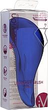 Parfums et Produits cosmétiques Brosse à cheveux, 415957, bleu - Inter-Vion Untangle Metallic