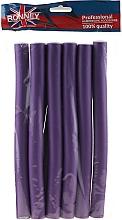 Parfums et Produits cosmétiques Lot de 10 bigoudis flexibles 20/240 mm, violet - Ronney
