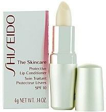 Baume protecteur à l'huile de graines de macadamia pour lèvres - Shiseido The Skincare Protective Lip Conditioner SPF 10 — Photo N1