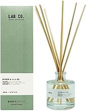 Parfums et Produits cosmétiques Bâtonnets parfumés, Poivre et Iris - Ambientair Lab Co. Pepper & Iris