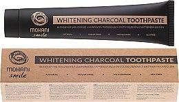 Parfums et Produits cosmétiques Dentifrice naturel au charbon actif - Mohani Smile Whitening Charcoal Toothpaste