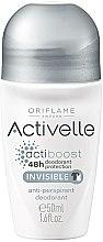 Parfums et Produits cosmétiques Déodorant roll-on anti-transpirant 48h - Oriflame Activelle Actiboost Invisible