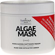 Parfums et Produits cosmétiques Masque aux algues et charbon actif pour visage - Farmona Professional Algae Mask With Active Carbon