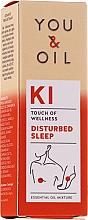 Parfums et Produits cosmétiques Mélange d'huiles essentielles - You & Oil KI-Disturbed Sleep Touch Of Welness Essential Oil