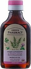 Parfums et Produits cosmétiques Huile de bardane à la prêle des champs pour cheveux - Green Pharmacy