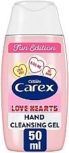 Parfums et Produits cosmétiques Gel antibactérien pour mains - Carex Fun Edition Love Hearts Antibacterial Hand Cleansing Gel