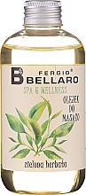 Parfums et Produits cosmétiques Huile de massage pour corps,Thé vert - Fergio Bellaro Massage Oil Green Tea