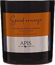 Parfums et Produits cosmétiques Bougie de soja naturelle, Orange épicée - APIS Professional Spiced Orange Candle