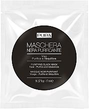 Parfums et Produits cosmétiques Masque noir purifiant pour visage - Pupa Purifying Black Mask