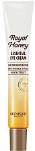 Parfums et Produits cosmétiques Crème à l'extrait de miel pour contour des yeux - Skinfood Royal Honey Essential Eye Cream