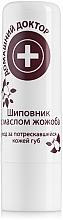 Parfums et Produits cosmétiques Rouge à lèvres à la rose musquée et huile de jojoba - Domashnyi Doctor
