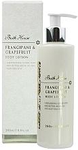 Parfums et Produits cosmétiques Bath House Frangipani & Grapefruit - Lotion à l'huile d'argan et beurre de karité pour corps