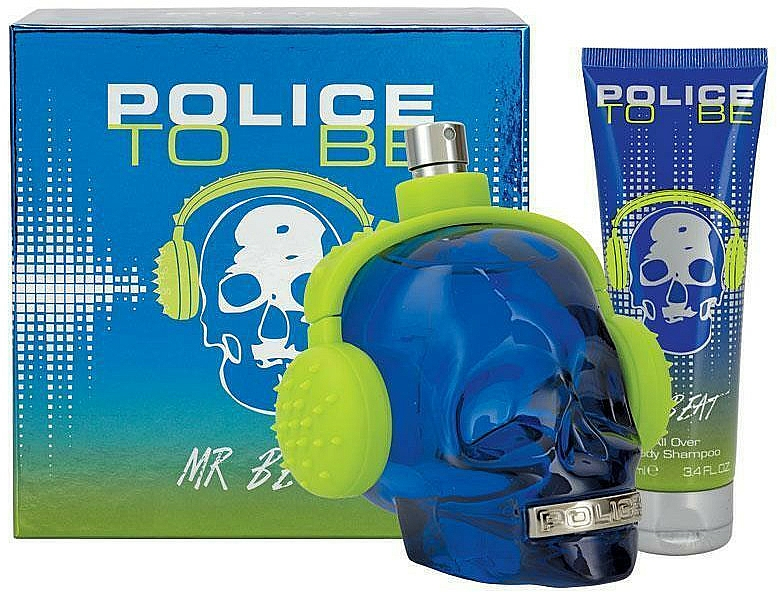 Police To Be Mr Beat - Set (eau de toilette/75ml + gel douche/100ml)