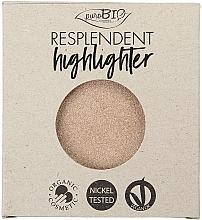 Parfums et Produits cosmétiques Enlumineur (recharge) - PuroBio Cosmetics Resplendent Highlighter