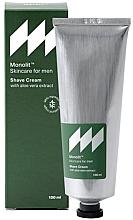 Parfums et Produits cosmétiques Crème à raser à l'extrait d'aloe vera - Monolit Skincare For Men Shave Cream With Aloe Vera Extract