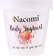 Parfums et Produits cosmétiques Yaourt corporel Pêche d'amour - Nacomi Body Jogurt Peach Love