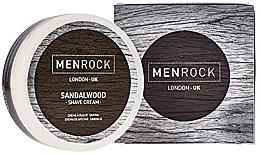 Parfums et Produits cosmétiques Crème à raser au bois de santal - Men Rock Sandalwood Shave Cream