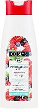 Parfums et Produits cosmétiques Gel douche et shampooing bio à la myrtille rouge - Coslys Body Care Body And Hair Shampoo With Red Berries